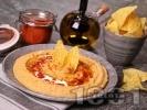 Рецепта Домашен хумус с нахут, сусамов тахан и лимон